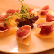 DOP PARMA-HAM WITH FRESH MELON