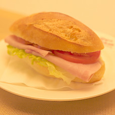 FRENCH COOKED HAM SANDWICH